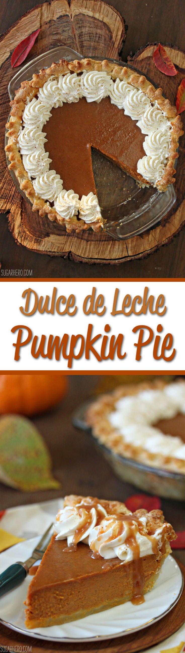 25 b sta dulce de leche id erna p pinterest goda for Pumpkin pie with a twist