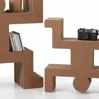 17 best images about cardboard furniture on pinterest for Meuble en carton