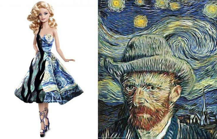 Barbie Van Gogh
