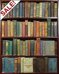 Distressed Vintage Cloth. Booksbythefoot.com a cool place to buy a bunch of similar looking books for decorating