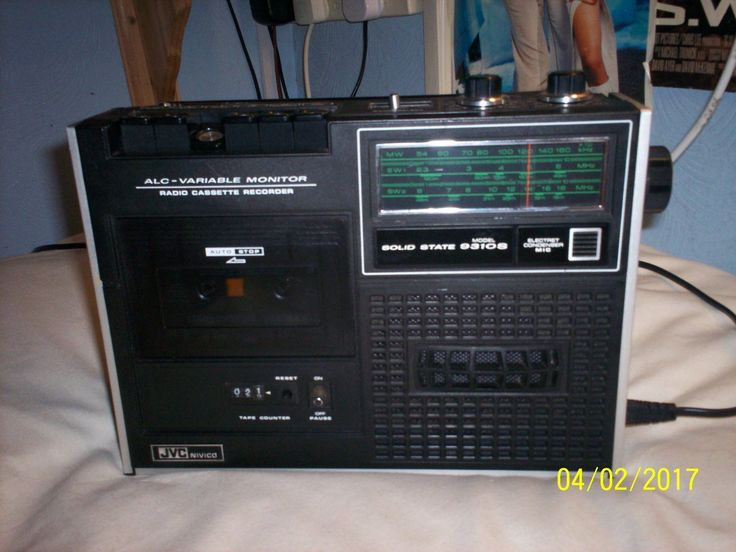 HI here we have from my audio clear out is an rare JVC NIVICO mono radio tape player with me/sw1/sw2 only upon testing today the radio bands and tape player are in good working order only fault found is battery terminal damage rusty as seen in pics other then this its in good working order for age and in good condition with only a few light scratch marks here and there on body this also has a tone control and will come complete with mains lead . this item will be packed well in bubb...
