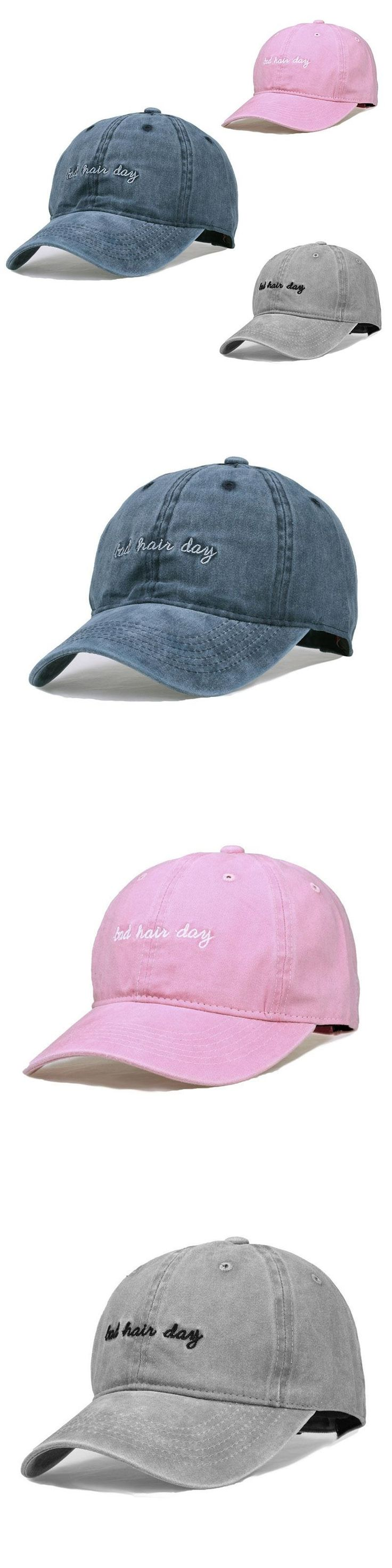 Hats 2017 Unisex Winter Unisex Casual Solid Embroidery Safety Pin Curved Hats Baseball Cap Men Women Caps Casquette Gorras