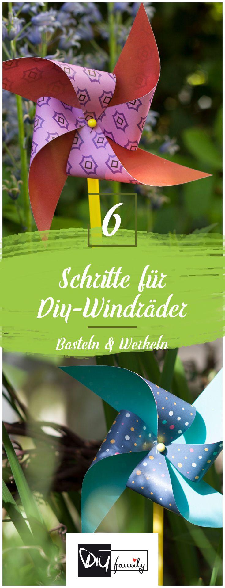 Stylische Windräder im Retro-Look  #retro, #summer, #garden, #windy, #pattern,