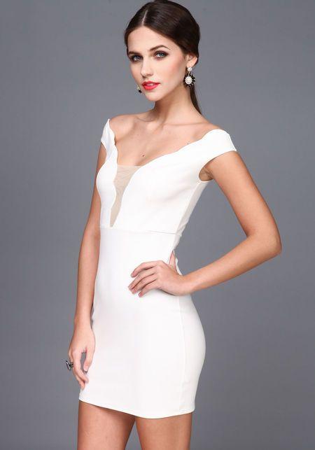 Zoe Barnes House Of Cards White Dress