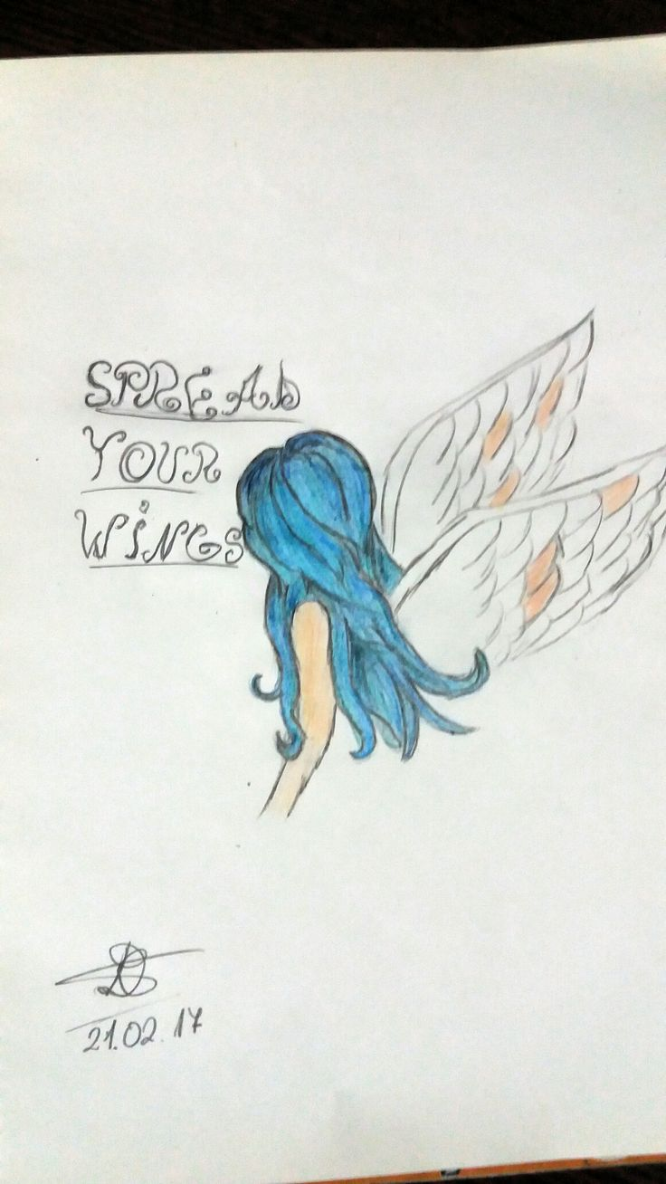 """""""Spread your wings! """""""