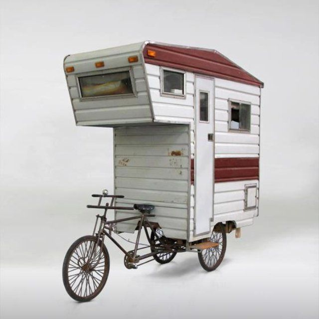 Bycicle camper
