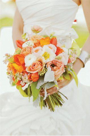 Свадебные букеты - идеи. Часть 1