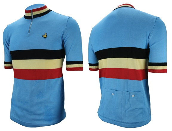 Image result for classic Belgian Cycling shirts