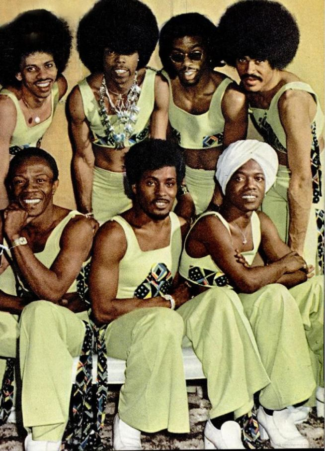 The Ohio Players. All natives of Dayton Ohio, the Funk capital of the world, has given us us some of the best funk bands over the years like The Ohio Players, Dayton, Lakeside, Zapp with Roger Troutman to name a few & Slave.