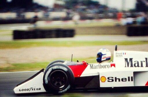 Alain Prost mc laren