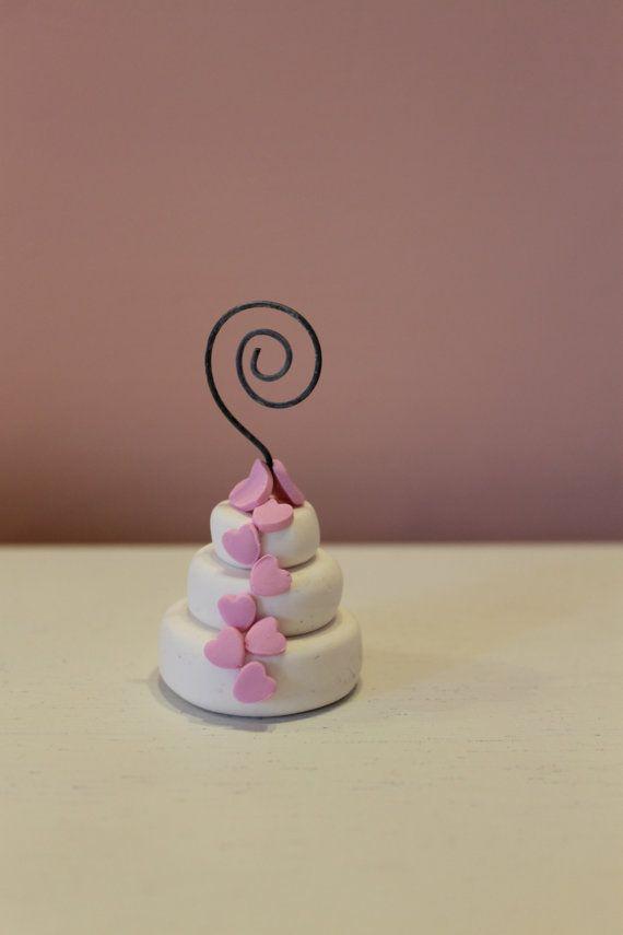Segnaposto Wedding Cake Fiori