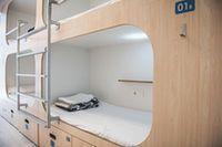 Slaapzaal, gemeenschappelijke badkamer (8 pax)