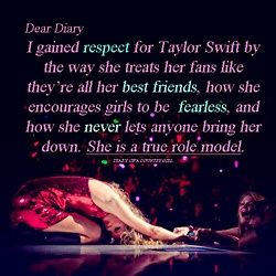 A ROLE MODEL SHE IS!! I LOVE HER!!:)