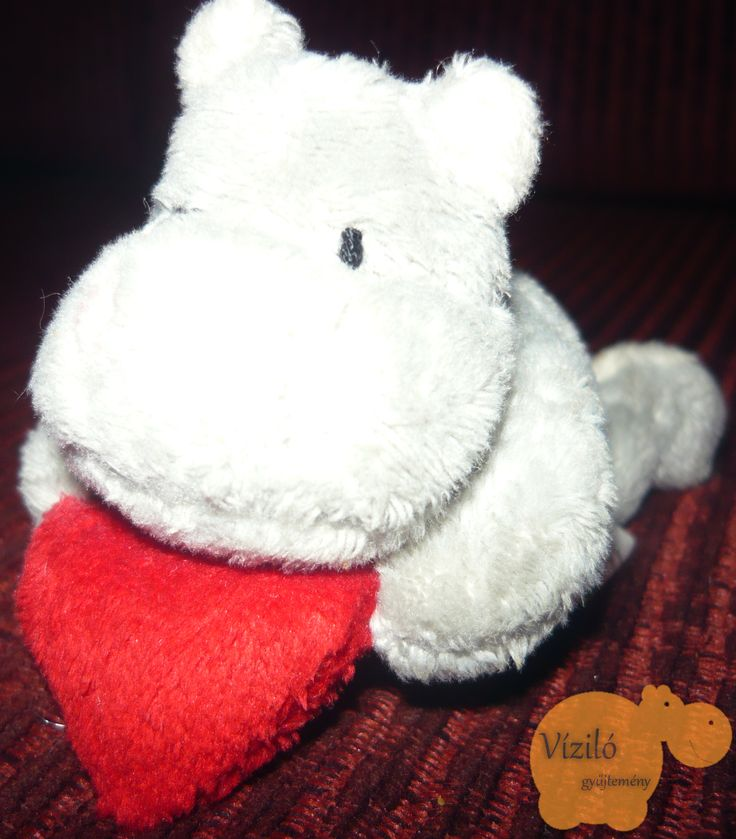 No. 43 | víziló | plüss | kulcstartó | hippo | plush | keyring