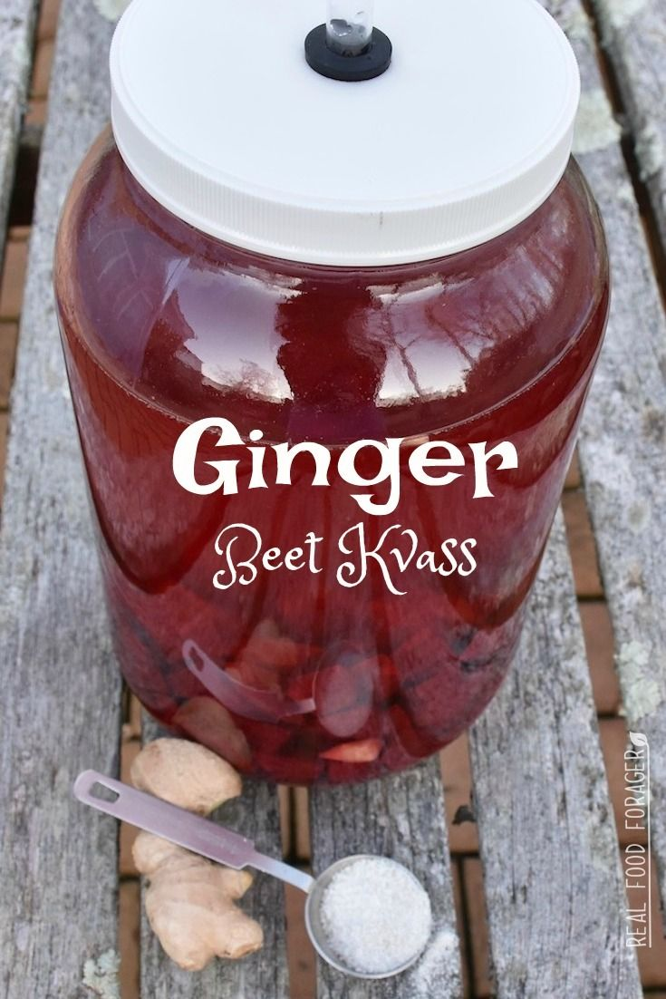 Recipe: Ginger Beet Kvass. This is a homemade power tonic with a kick!