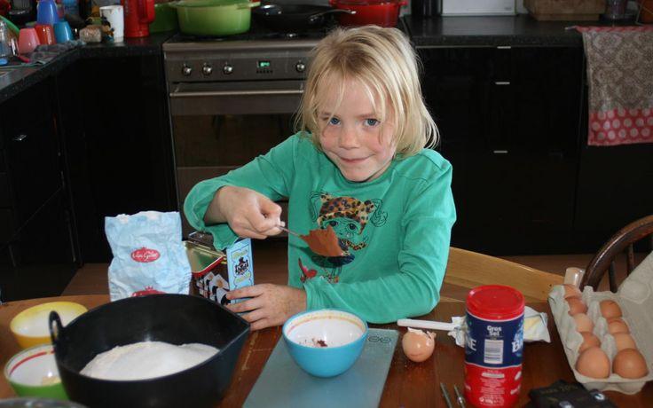 Chocoladebrood gemaakt door Jobke - Kids in the Kitchen