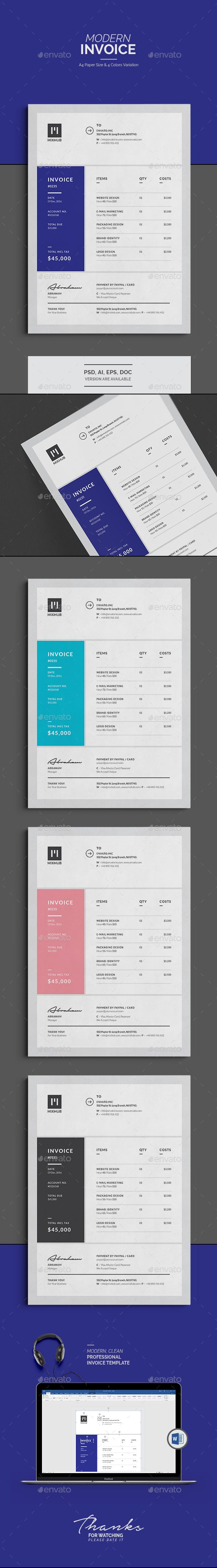 1000 ideas about invoice template on pinterest for Https invoice generator com 1