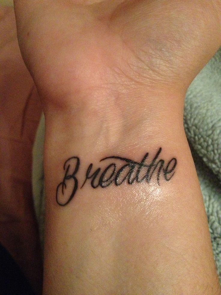 45 best breathe tattoo designs images on pinterest