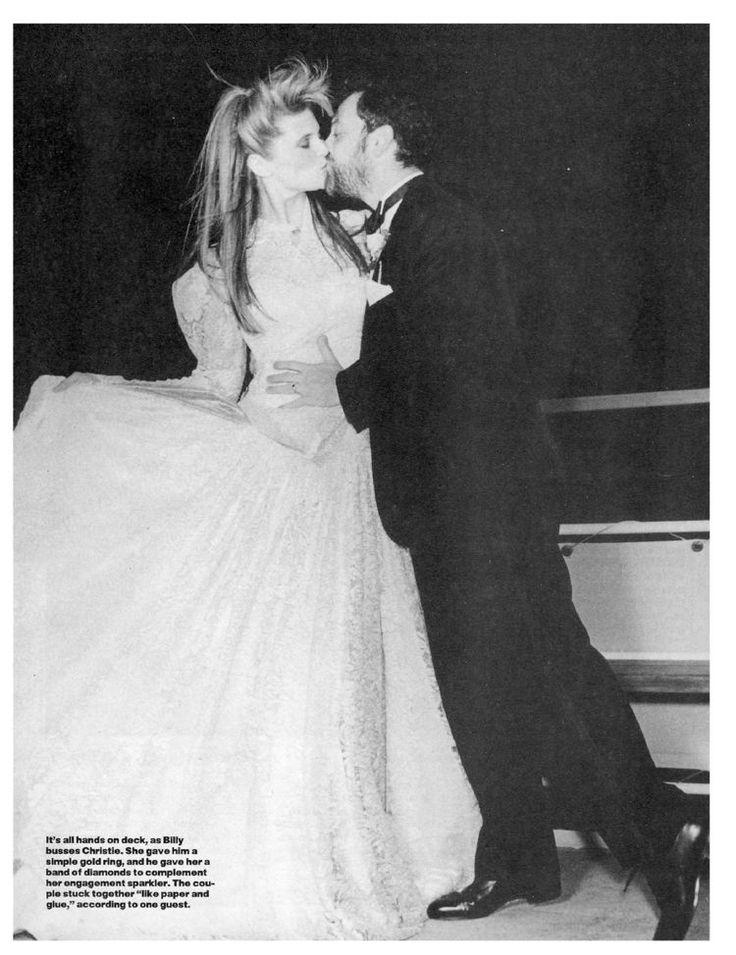 Dreamboat Wedding - Weddings, Billy Joel, Christie Brinkley : People ...