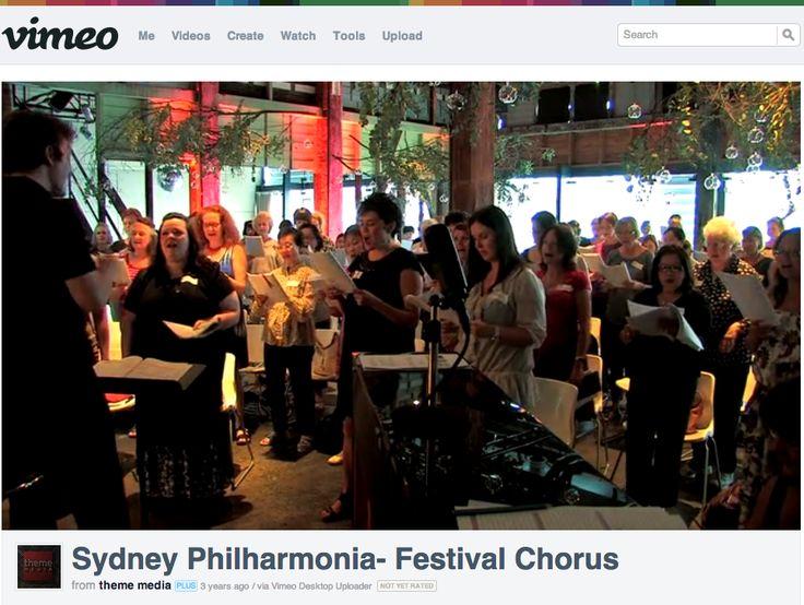 Sydney Philharmonia- Festival Chorus