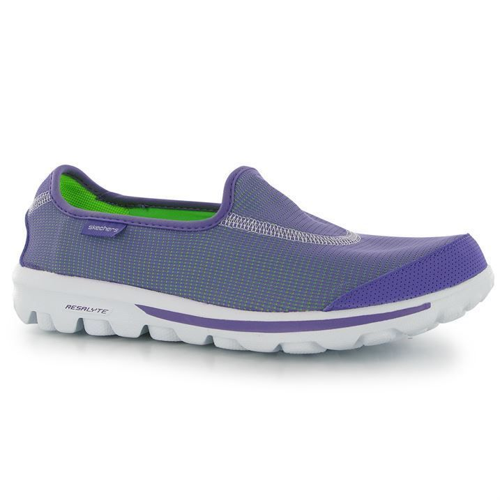 Ladies SKECHERS GO WALK Recovery Purple Trainers UK Size 5. BNIB FREE DELIVERY.