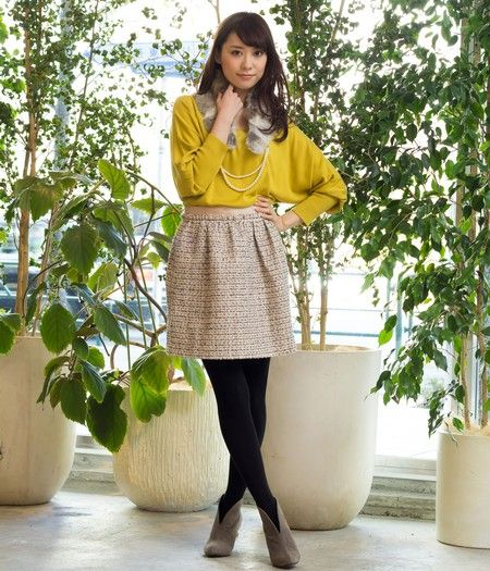 Rope Picnic Sophisticated Winter Coordinate Office Lady Ol Style Japanese Fashion Japanese