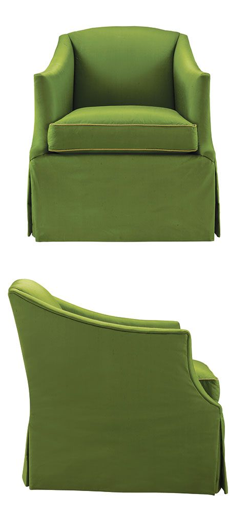 LEE Industries Swivel Chair, Shown Here In A Luscious Green. Choose From  Hundreds Of