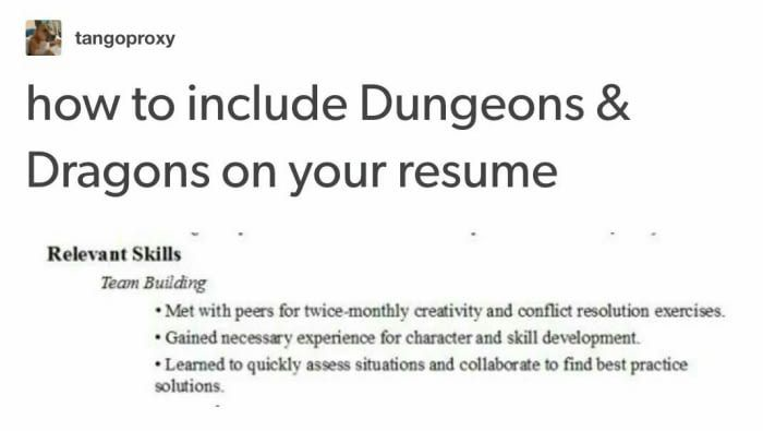 What about 9gag on a resume? Sports food, Funny pics and Video games - park ranger resume