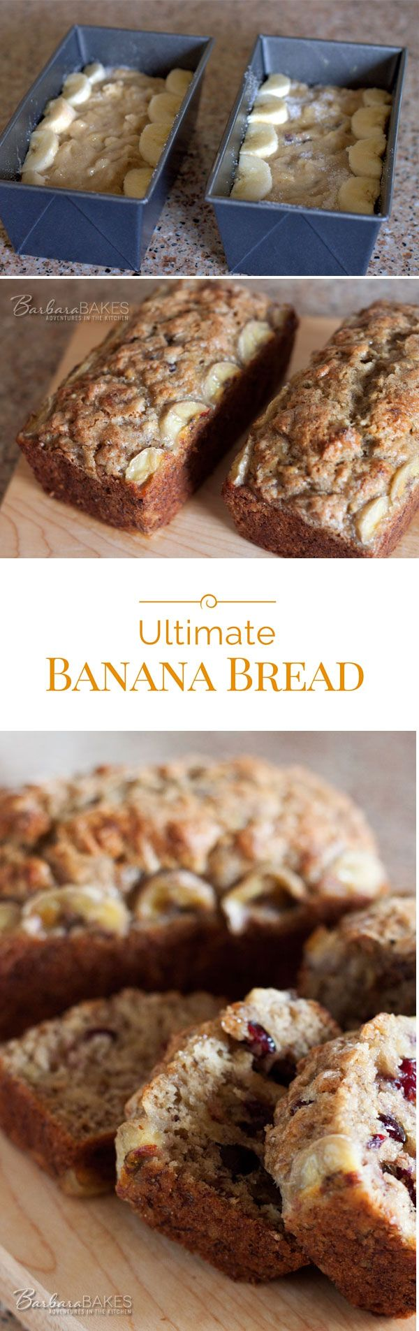 For the ultimate banana bread you want a bread loaded with great banana flavor that's moist and tender, but not overly moist or soggy.