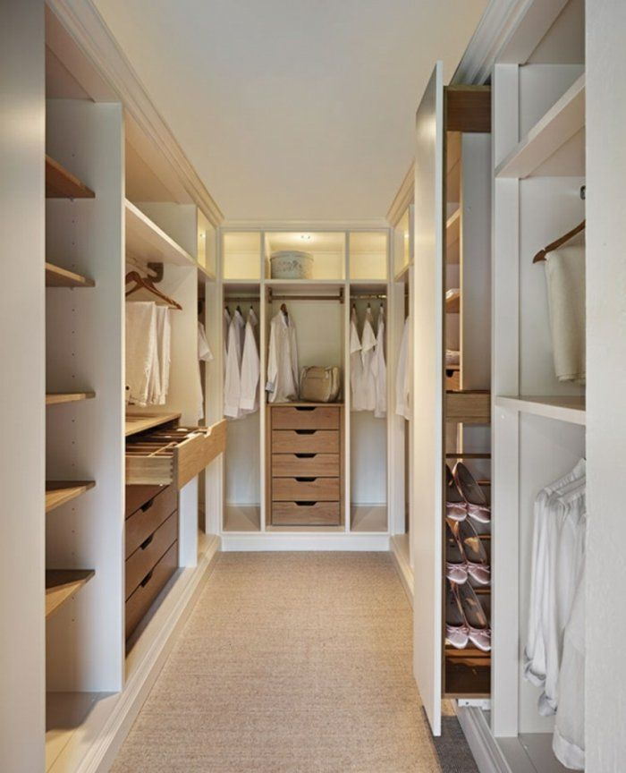 17 Best images about Ankleidezimmer on Pinterest Sliding door - begehbarer kleiderschrank system modern