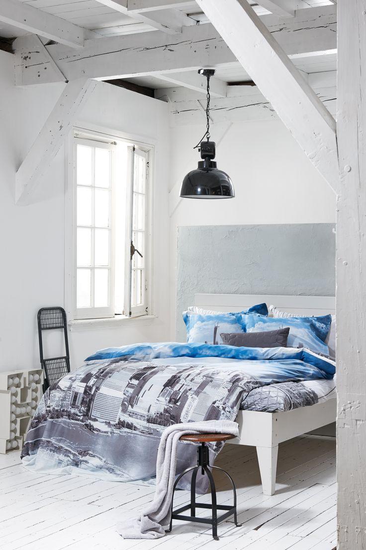 New York New York.... Lovely Bedding Set. #bedding #påslakan #NewYork #AsIf4476 #bedroom #bed #interiordesign