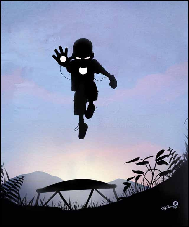 super-hero-kids these are fantastic!: Andy Fairhurst, Iron Kids, Superhero Kids, Art, Iron Man, Super Heroes, Ironman, Superhero Silhouettes, Andyfairhurst
