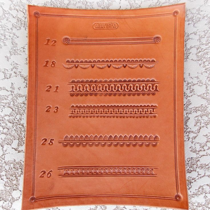 Border Stamp Set 12 - 26