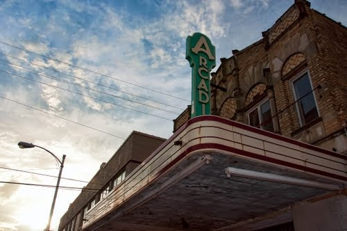 Downtown Temple Arcadia Theater  Photo by GyroPhotos Shar Community, Temples Arcadia, Gyros Cake, Theater Photos, Downtown Temples, Arcadia Theater