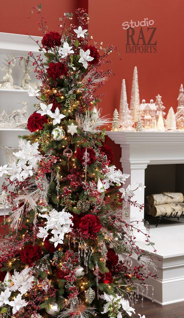RAZ 2013 Ice Garden Christmas Tree