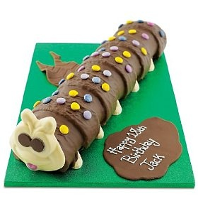 Giant Colin The Caterpillar Cake Gardens Themed Parties