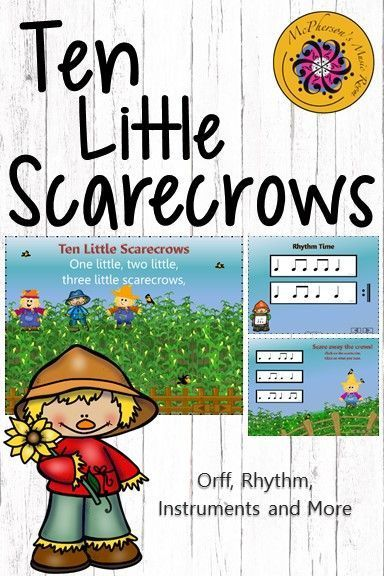Elementary music lesson plan with lots of rhythm, steady beat game and instrument activities! Fun Orff lesson and interactive visuals for October.