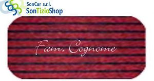 a felpudo enmoquetada burdeos 40x60 cmalfombra casabordado nombre personalizado