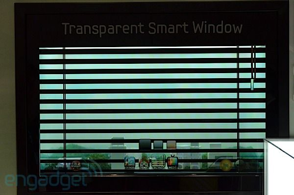 Smart Window...in case you wanted to do something besides look out your window
