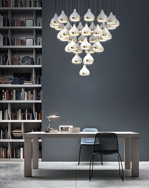 You will be amazed with these contemporary lighting inspirations, from reading lamps to bedside lamps | www.delightfull.eu | Visit us for more inspirations about:  table lamps, mid-century table lamps, mid-century lighting, mid-century lamps, mid-century home décor, mid-century design, mid-century style, mid-century interiors, mid-century home, living room lighting, bedroom lighting, modern lighting