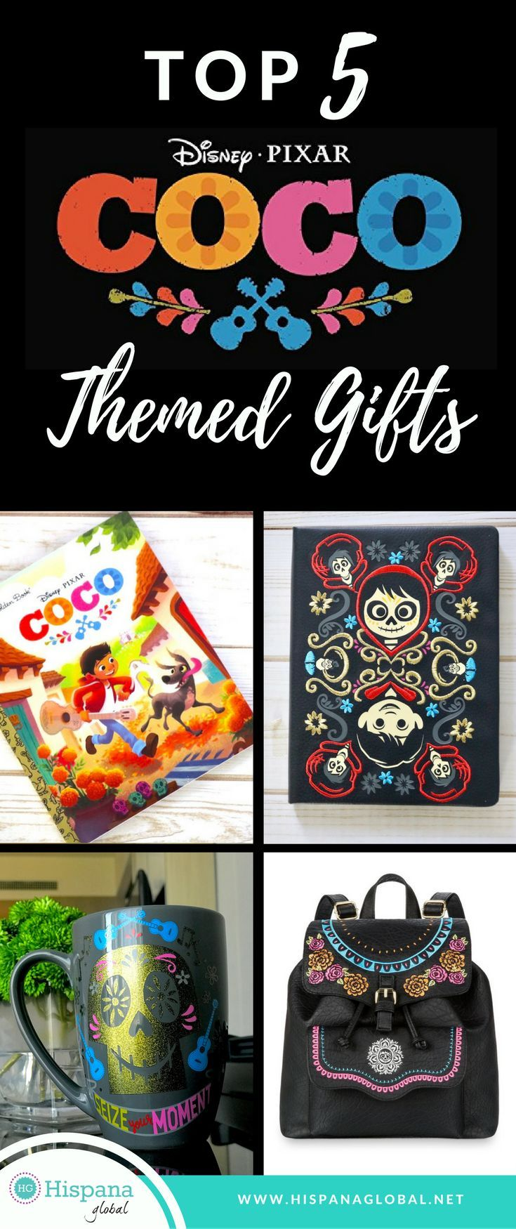 The #2017 #Disney Pixar #film, Coco is warming hearts everywhere and just in time for the holidays! These are my Top 5 Coco themed products that make great #gifts or even, cute decor or handouts for a Coco themed #party!! With so many lovable #character, you will probably want to bring a piece of this magical film home with you!
