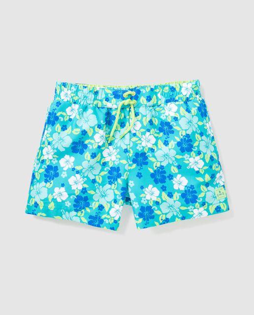 37c2a653b027 Bañador de niño B con B con estampado tropical | swimwear | Fashion ...