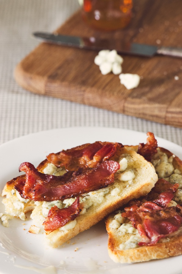 Blue Cheese Tartine | Favorite Recipes | Pinterest