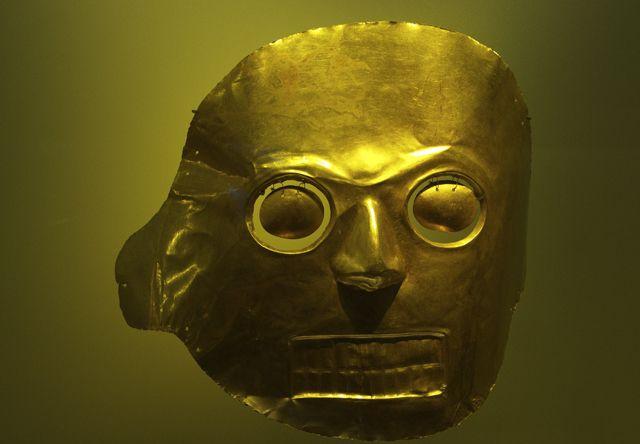 Museo del Oro - Gold museum in Bogota, Colombia