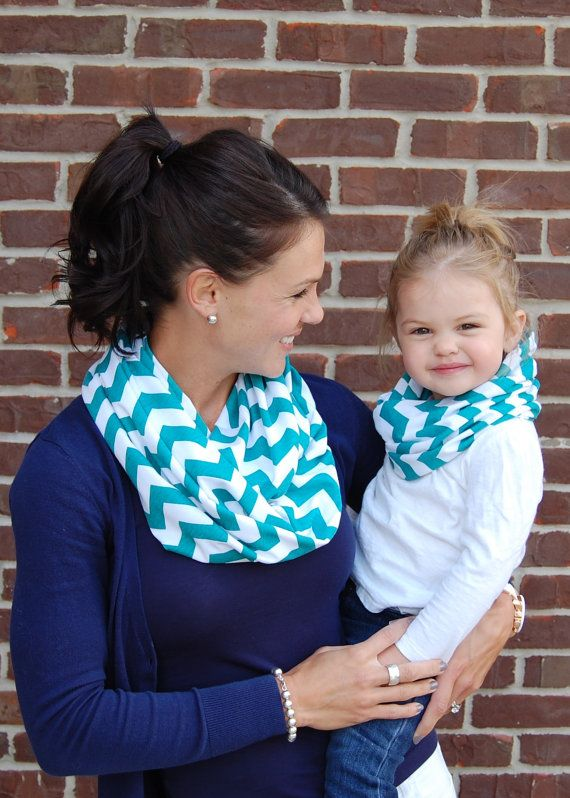 ADDITIONAL COLORS Chevron Mother/Daughter by BundleUpBuddy on Etsy