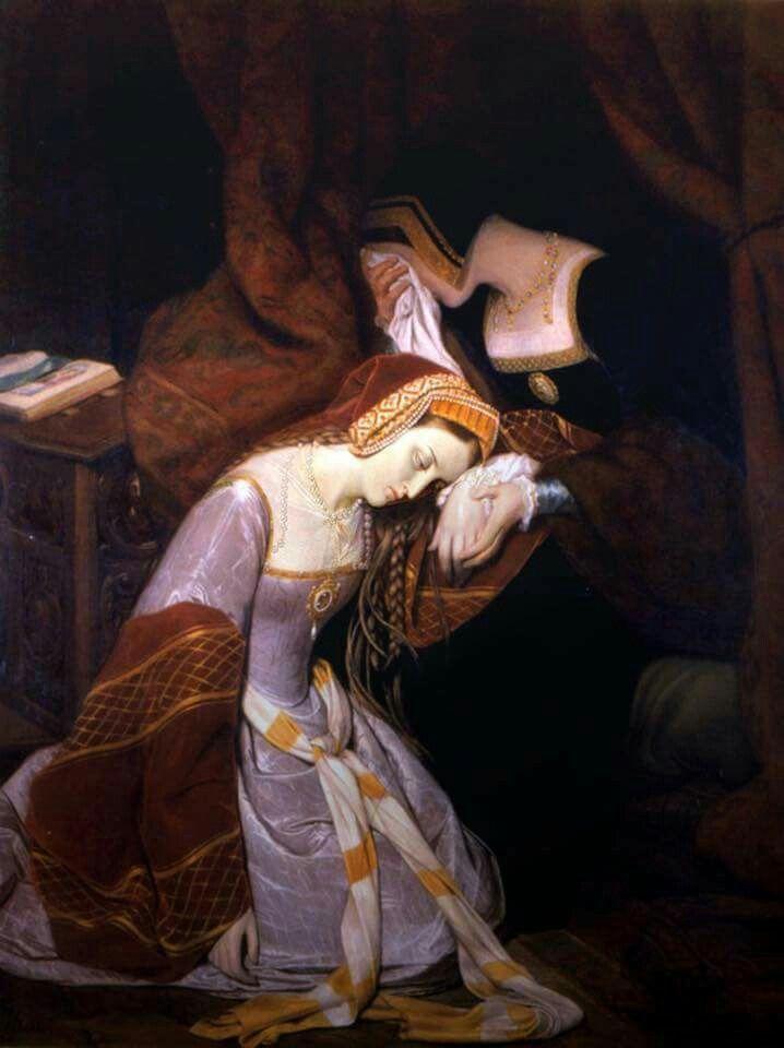 Anne Boleyn in the Tower of London.