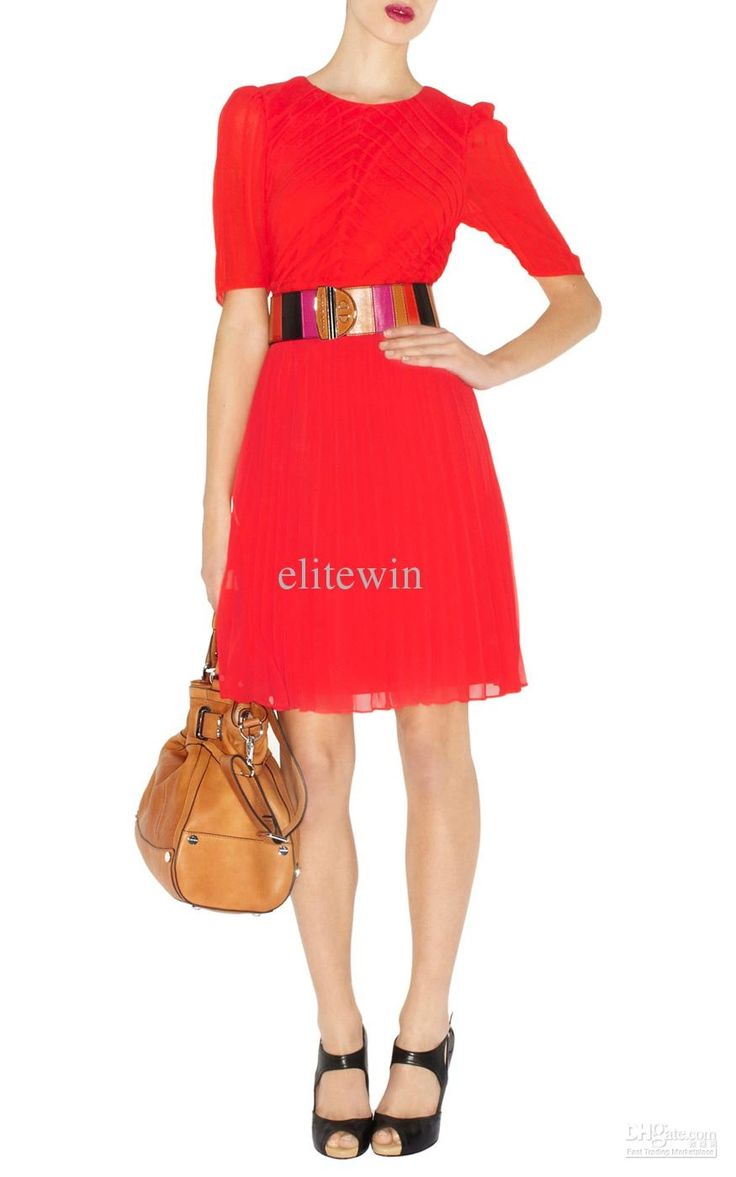 Snappy Red Work Dresses