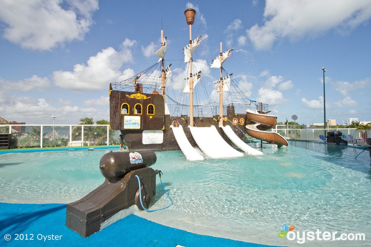 OMG Someone is going to be in his glory when we get there.  Oki Splash Water Park at the Gran Caribe Real Cancun