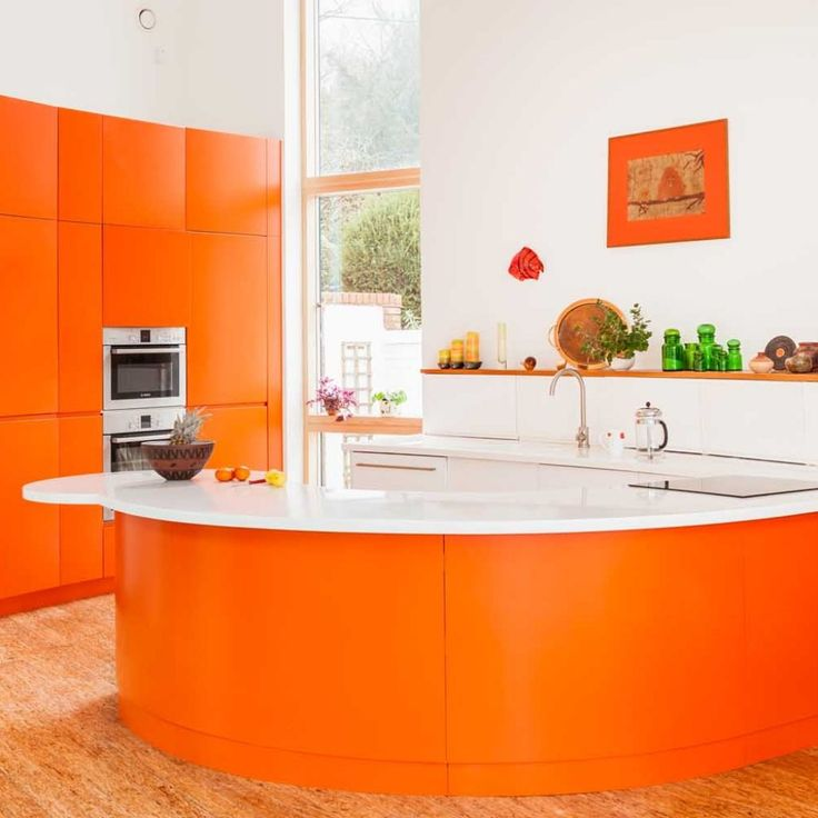 Orange Kitchen Colors 20 Modern Kitchen Design And Decorating Ideas: 25+ Best Ideas About Orange Kitchen Decor On Pinterest