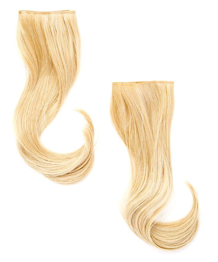 Light Golden-Blonde Secret Hair Extensions Set